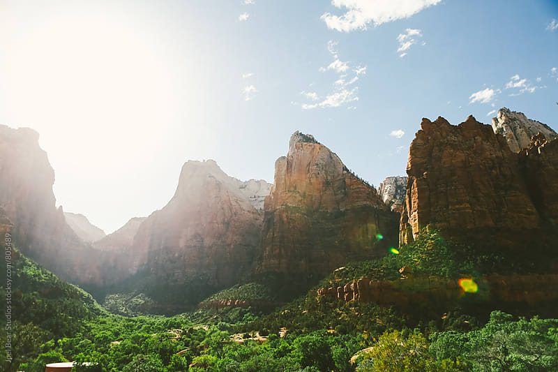 Zion National Park by Joel Bear Studios for Stocksy United