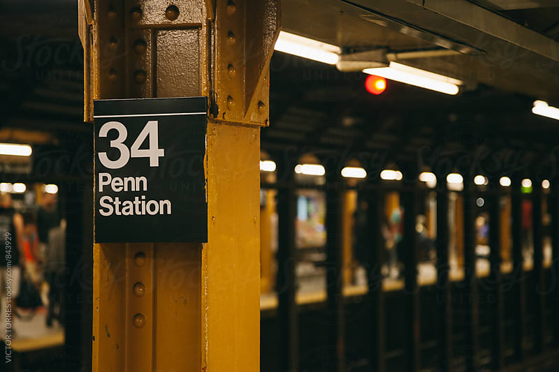 New York Subway Scene by VICTOR TORRES for Stocksy United