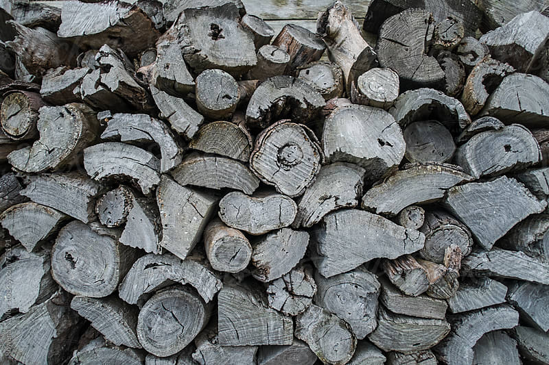 Winter Woodpile by Rowena Naylor for Stocksy United