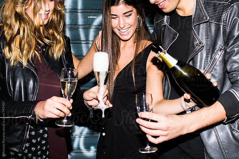 Champagne for everyone by michela ravasio for Stocksy United
