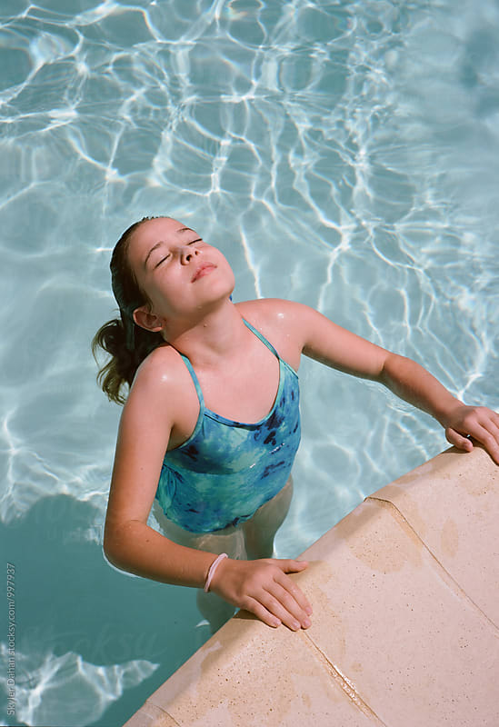 Poolside  by Skyler Dahan for Stocksy United