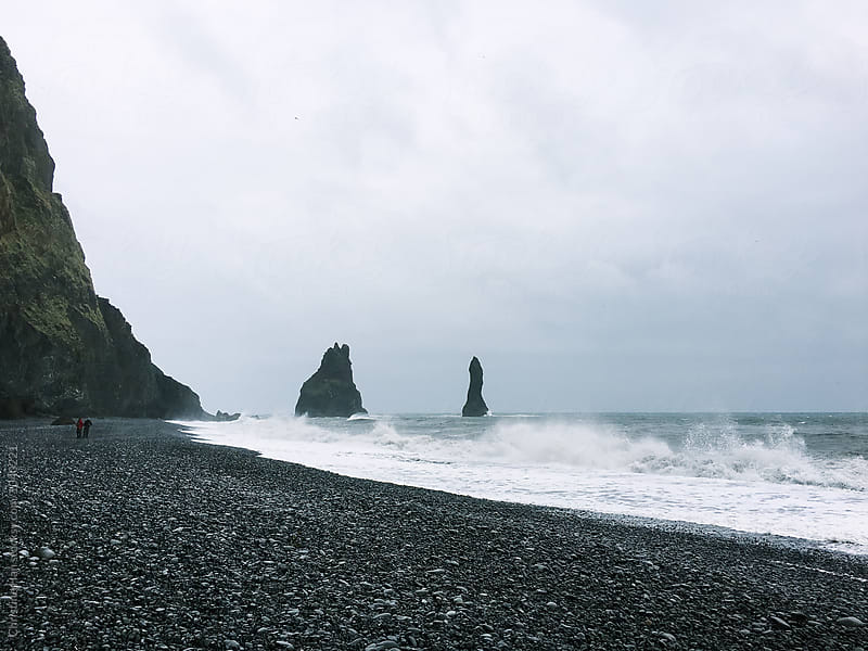 Reynisfjara, Iceland by Christine Han for Stocksy United