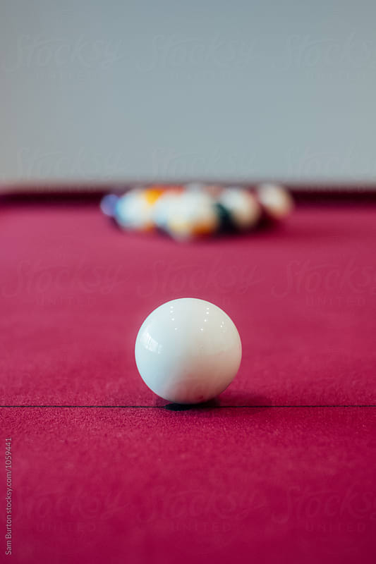 Pool Table by Sam Burton for Stocksy United