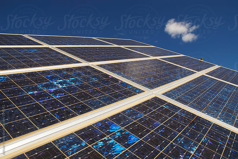 Solar Panel by Adrian P Young for Stocksy United
