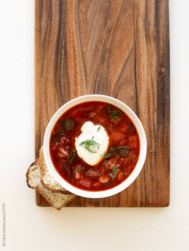 Beef Borscht by Jill Chen for Stocksy United