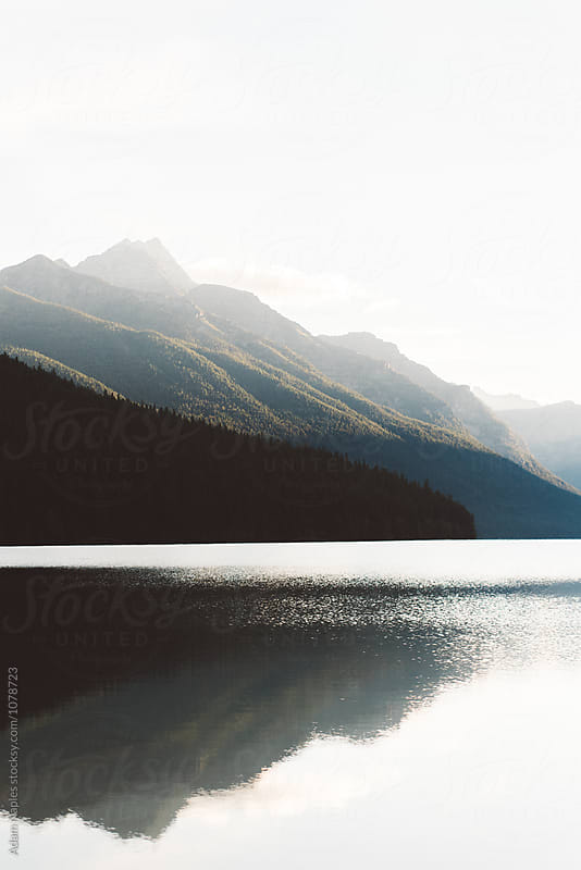 Bowman Lake, Glacier National Park, Montana by Adam Naples for Stocksy United