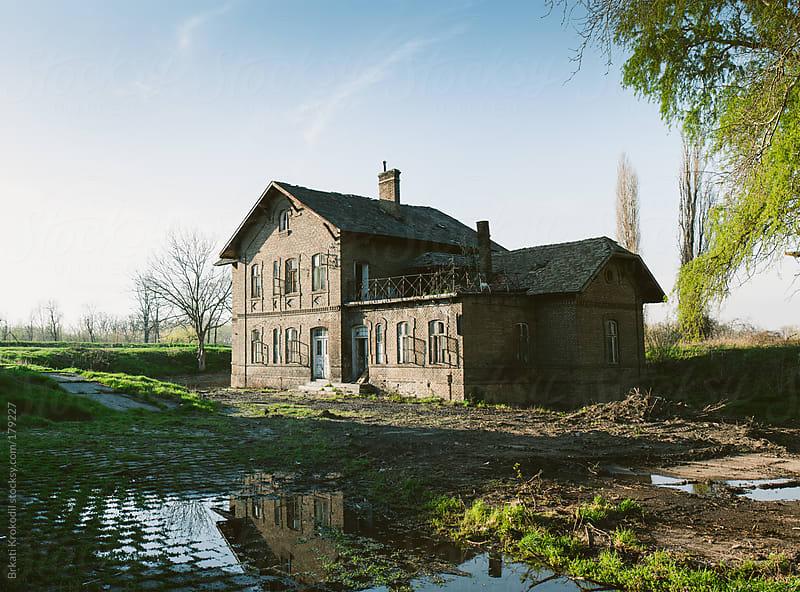 Old, abandoned house by Branislav Jovanovic for Stocksy United
