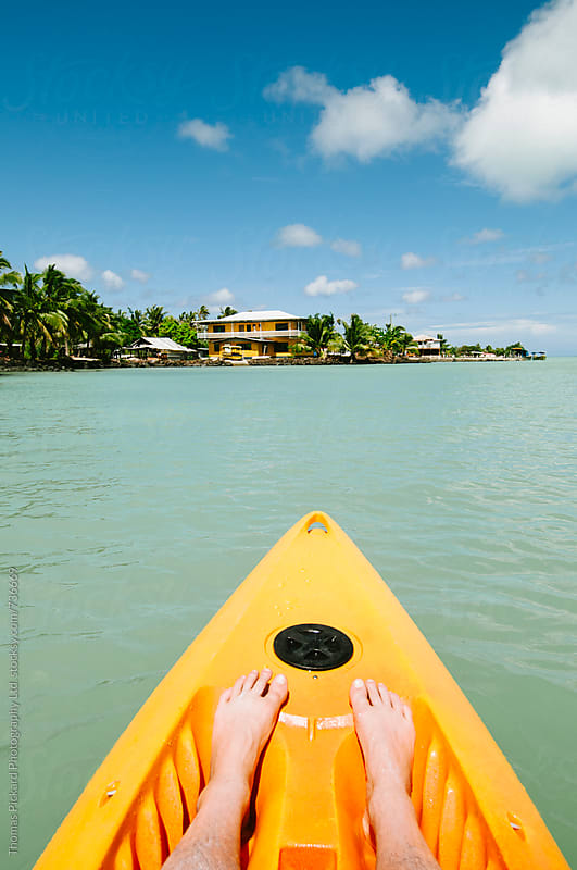 Kayaking Samoa. by Thomas Pickard for Stocksy United