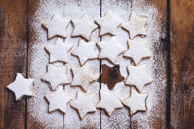 Christmas cookies by Pixel Stories for Stocksy United