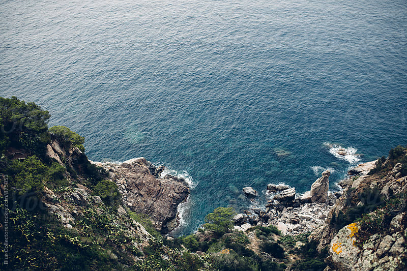 Sea views from the coast by Jordi Rulló for Stocksy United