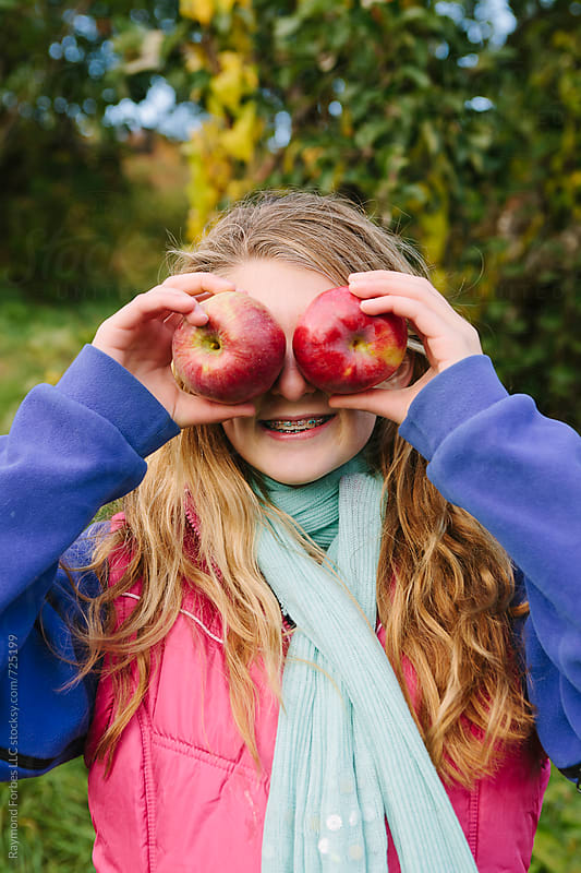 Pickin' Apples by Raymond Forbes LLC for Stocksy United