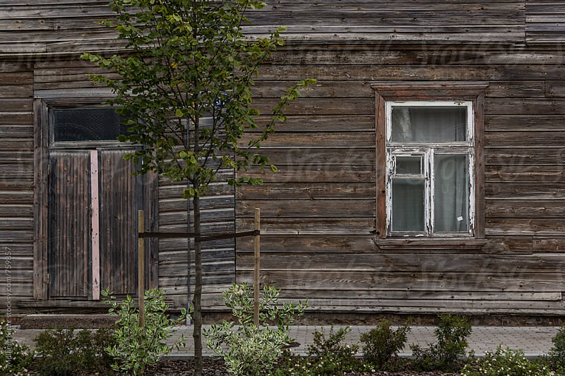 Traditional old wooden house in south-eastern Estonia by Melanie Kintz for Stocksy United
