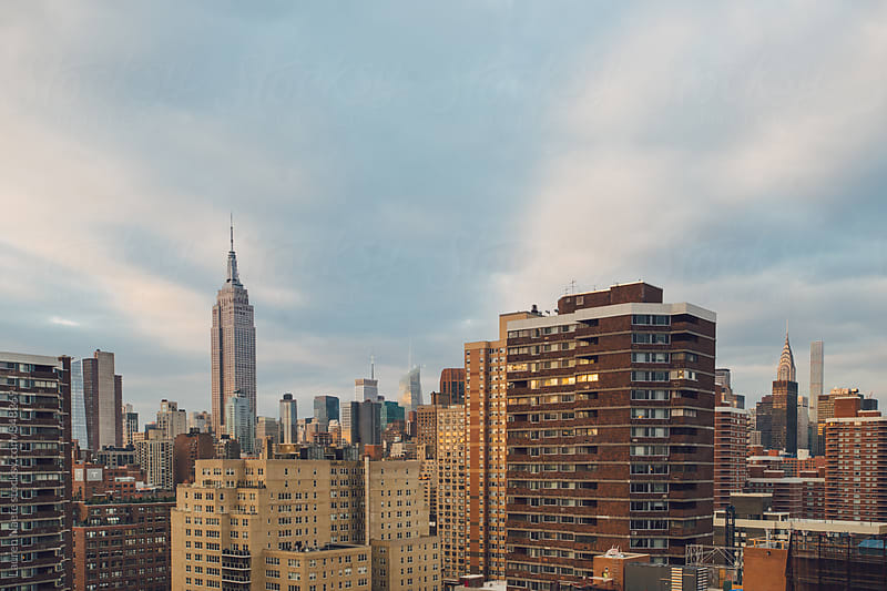 NYC Skyline by Lauren Naefe for Stocksy United