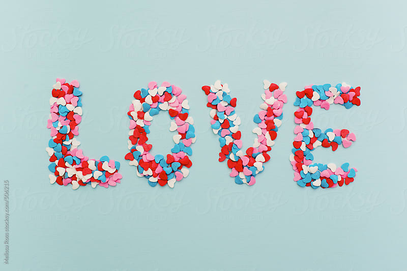 Sprinkle a little love. by Melissa Ross for Stocksy United