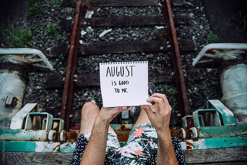 august is good to me by Thais Ramos Varela for Stocksy United