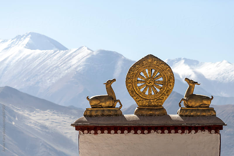 Traditional Tibet by James Tarry for Stocksy United