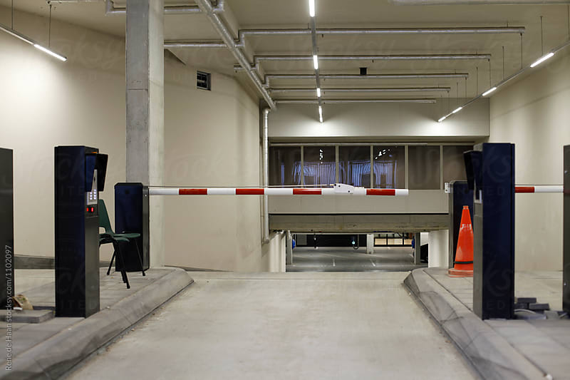 entrance of underground car parking by Rene de Haan for Stocksy United