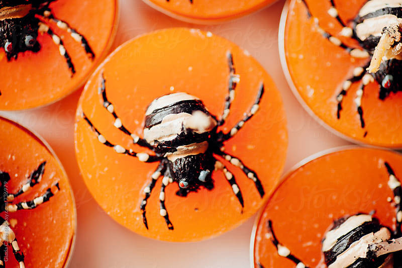 Halloween candles by Giada Canu for Stocksy United