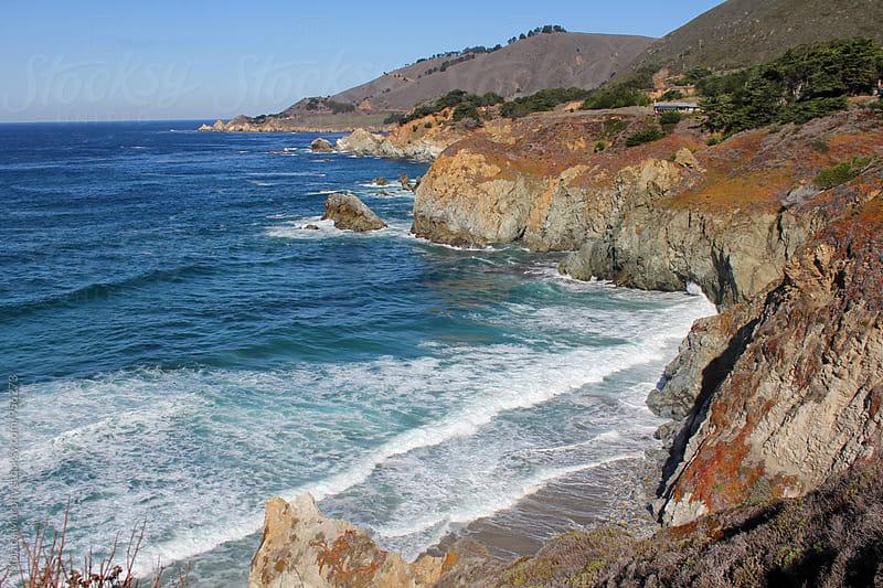 Beautiful California Coastline; Big Sur by Monica Murphy for Stocksy United