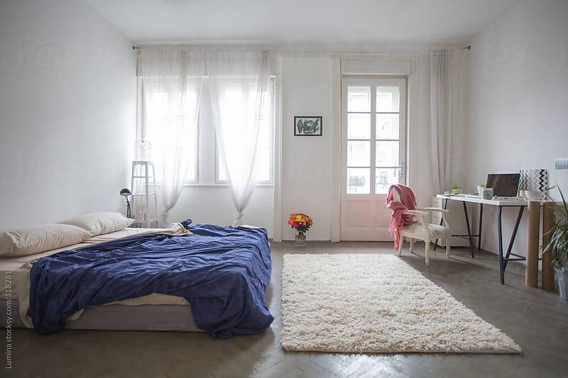 Empty Bedroom by Lumina for Stocksy United