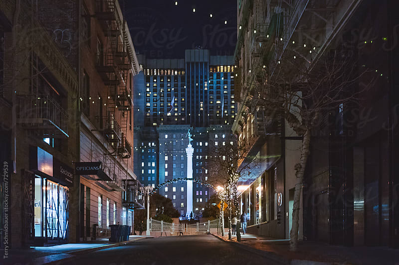 San Francisco at Night by Terry Schmidbauer for Stocksy United