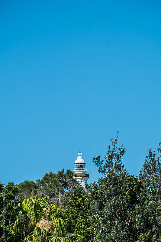 Byron Bay Lighthouse, Australia by Rowena Naylor for Stocksy United