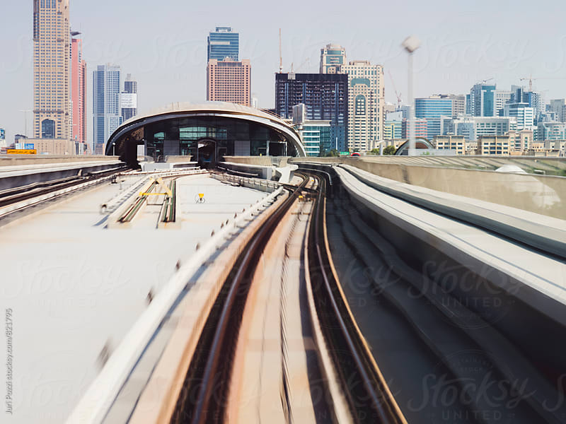 Dubai Metro by Juri Pozzi for Stocksy United