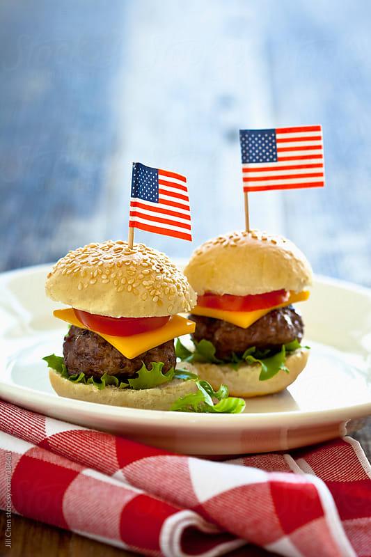 Mini Hamburgers by Jill Chen for Stocksy United