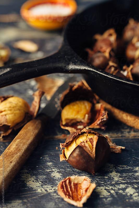 Roasted chestnuts by Gabriel (Gabi) Bucataru for Stocksy United