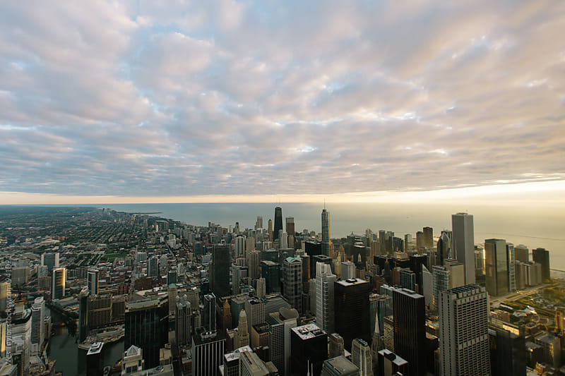 Chicago at Sunrise by Wes Taylor for Stocksy United