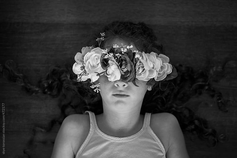 Flower Girl by skye torossian for Stocksy United