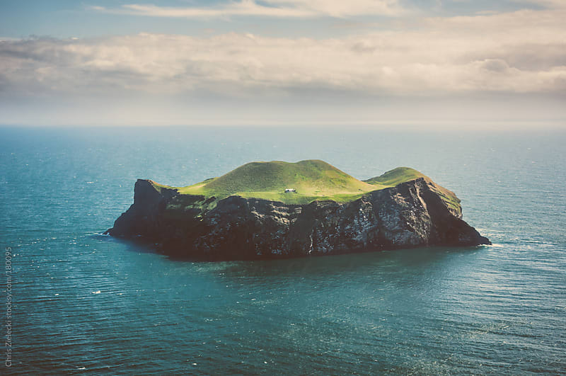 Isolated island by Christian Zielecki for Stocksy United