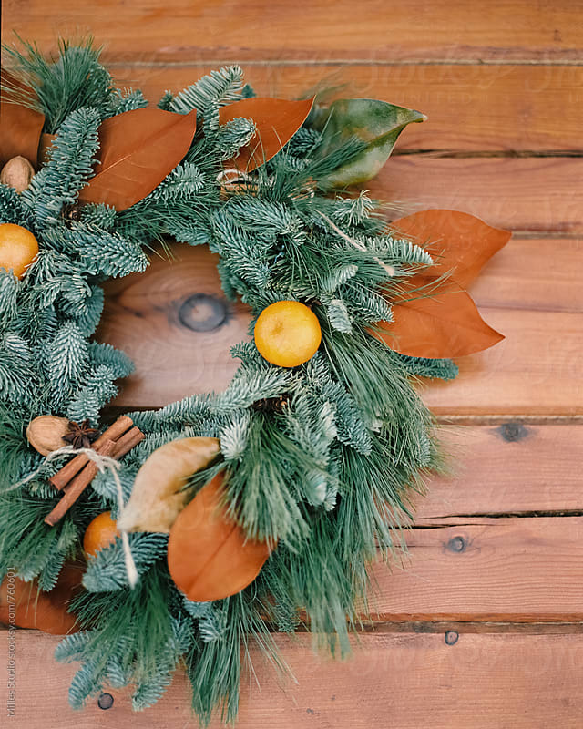 Christmas Wreath by Milles Studio for Stocksy United