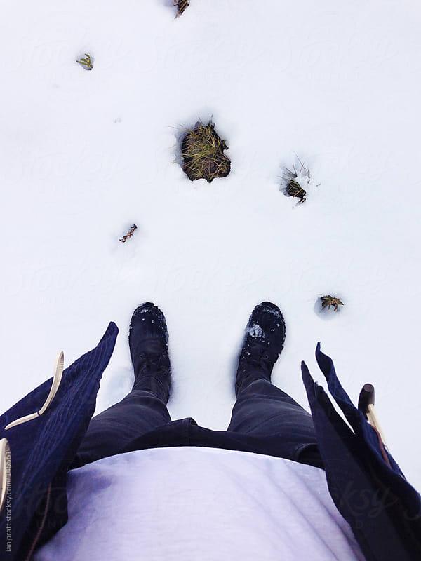 snowfeet by ian pratt for Stocksy United