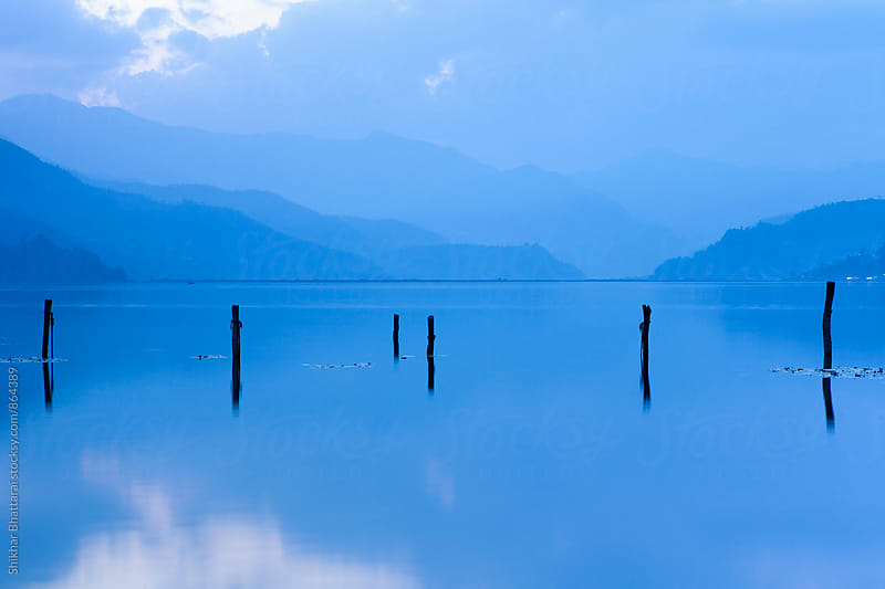 Fewa Lake, Pokhara. by Shikhar Bhattarai for Stocksy United