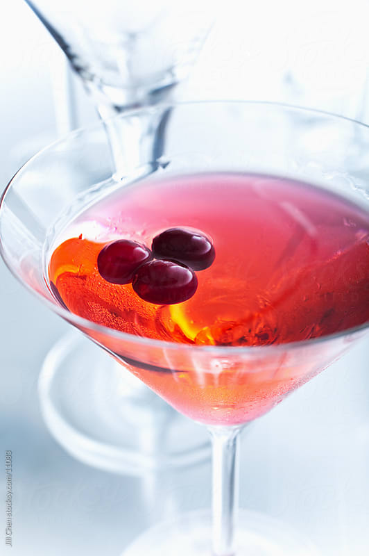 Cranberry Martini by Jill Chen for Stocksy United