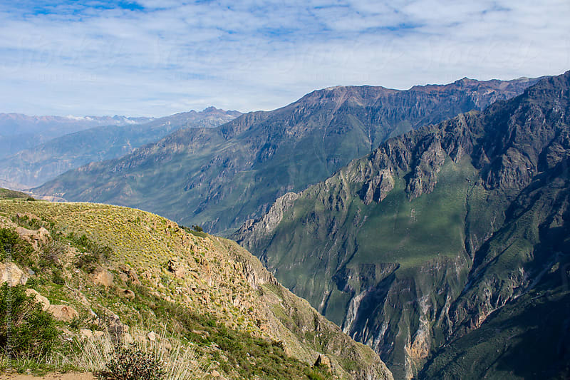 Colca Canyon by Lucas Brentano for Stocksy United