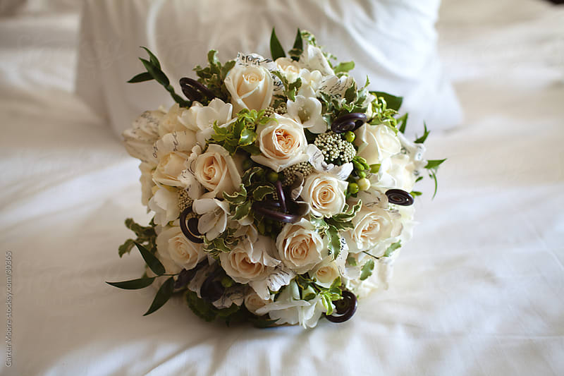 A Bride's Bouquet by Carter Moore for Stocksy United