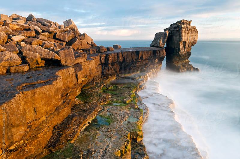 Pulpit Rock, Portland Bill, Isle of Portland, Dorset, England, United Kingdom, Europe by Gavin Hellier for Stocksy United