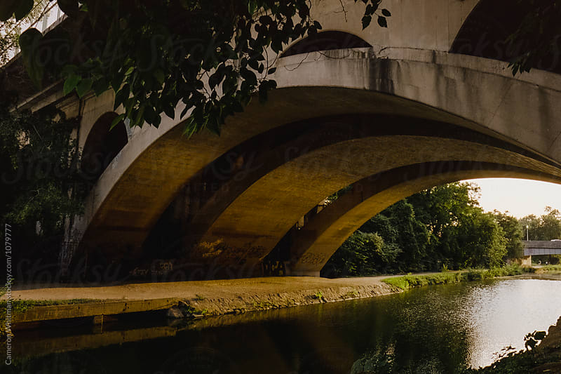 Views along the C&O Canal in Georgetown, Washington DC by Cameron Whitman for Stocksy United