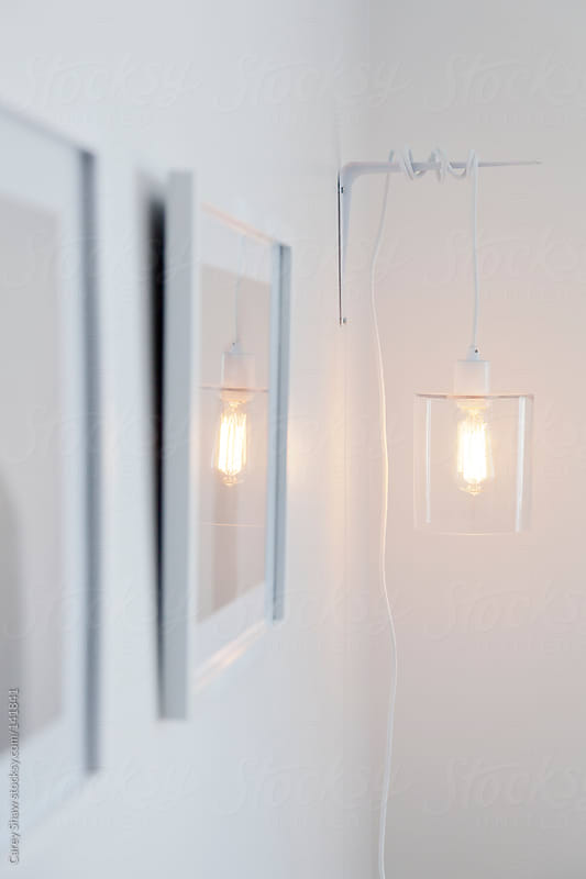 Hanging lamp by Carey Shaw for Stocksy United