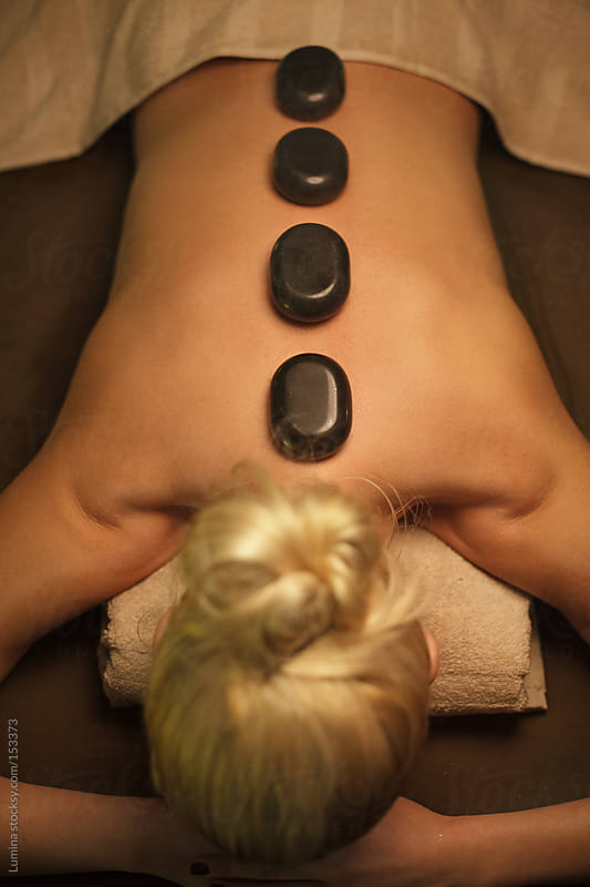 Hot Stone Therapy by Lumina for Stocksy United