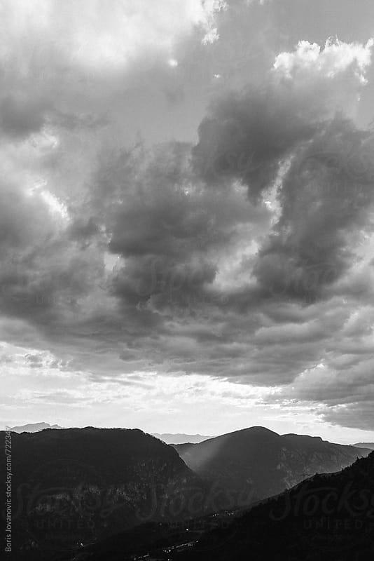 Black and white landscape  by Boris Jovanovic for Stocksy United