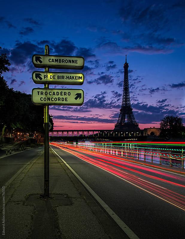 Paris Dawn by Edward Adios for Stocksy United