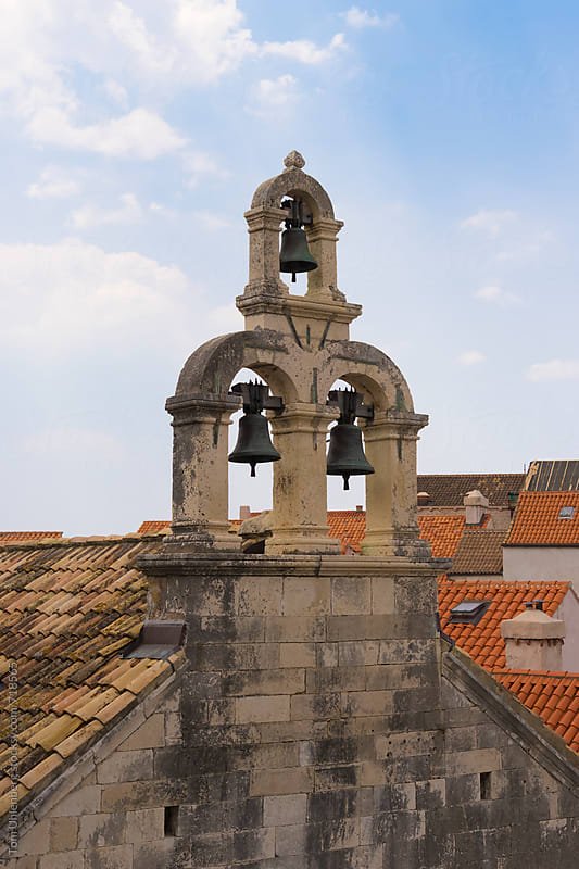 Bells in the Old Town of Dubrovnik, Croatia by Tom Uhlenberg for Stocksy United