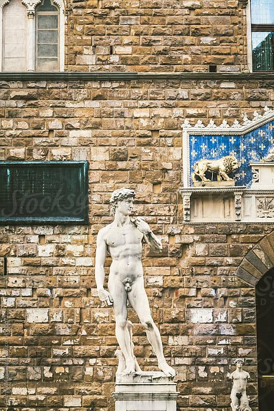 Michelangelo's David Statue in Florence, Italian Art Symbol by Giorgio Magini for Stocksy United