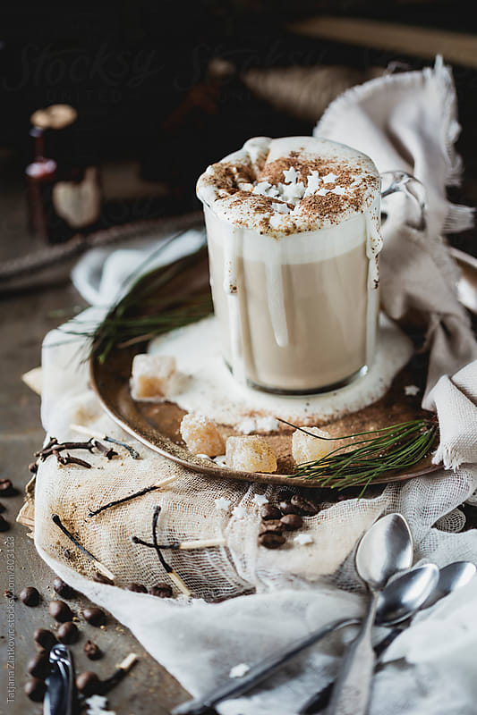 Gingerbread coffee by Tatjana Zlatkovic for Stocksy United