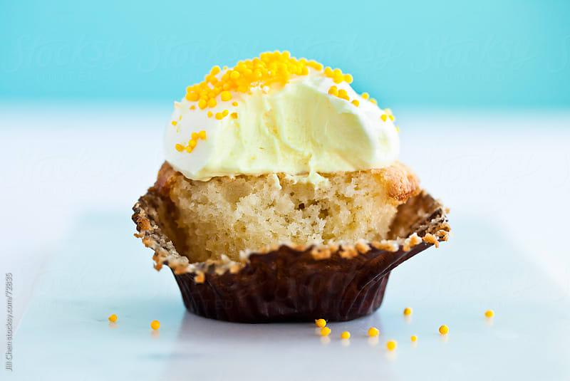 Lemon Cupcake by Jill Chen for Stocksy United