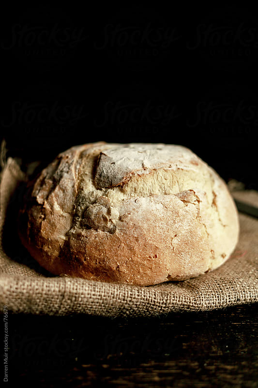 Home baked  bread. by Darren Muir for Stocksy United