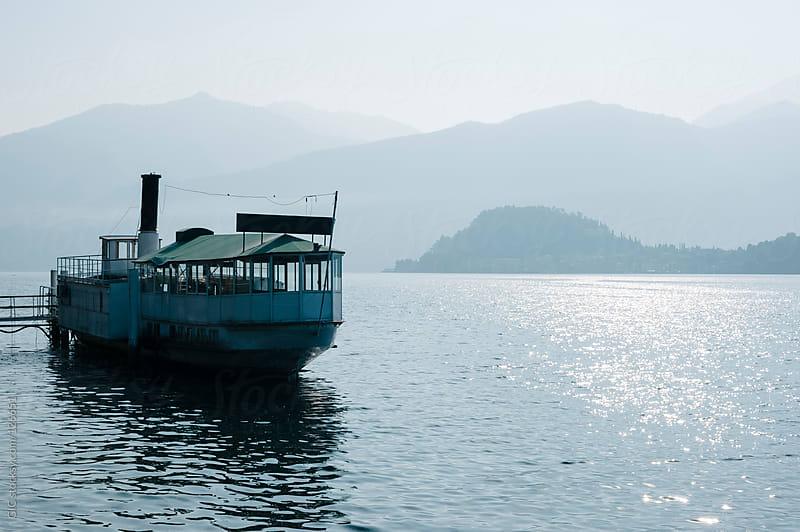 Old Boat in Lake Como, Italy by GIC for Stocksy United